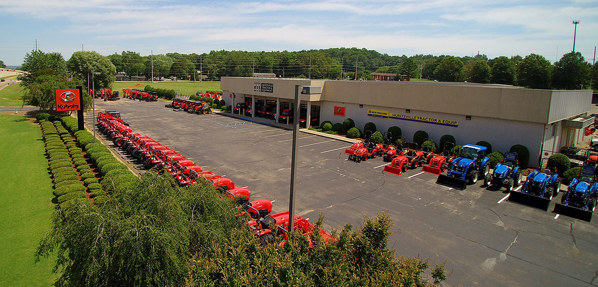 Providing Huntsville the best selection of tractor equipment  and tractor parts for over 44 years.